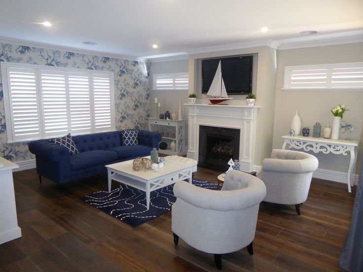 Hampton 265 Living Room