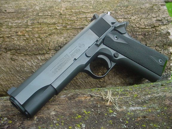 ------Colts-------- Government model  45 automatic caliber