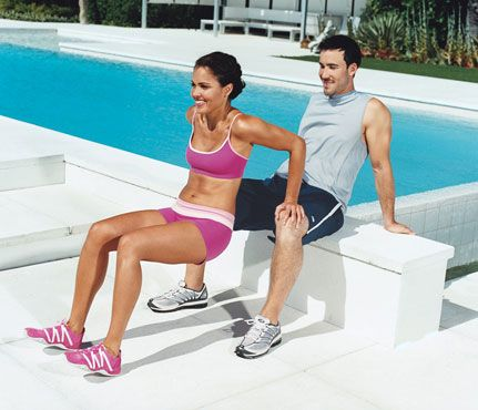 Team up to slim down: Workouts: Self.com:Get fit and feel sexy with these allove