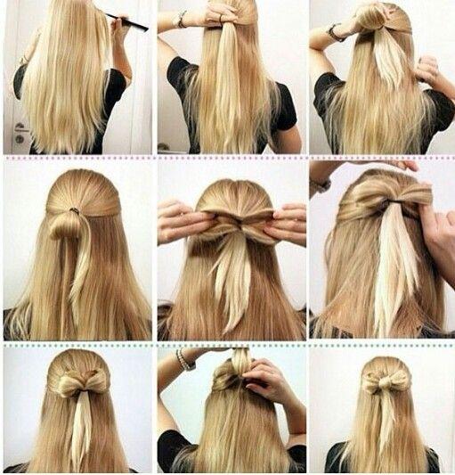Leuk strikje voor in je haar