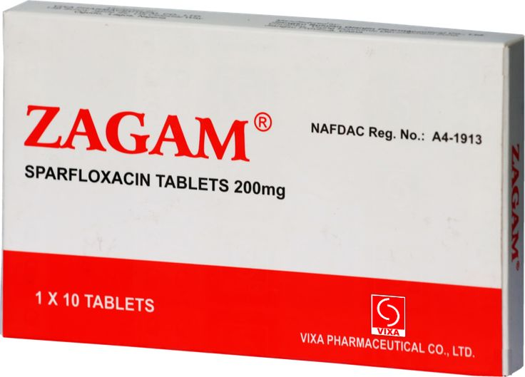 COMPOSITION – SPARFLOXACIN 200mg INDICATION – used for the treatment of community acquired pneumonia, lower respiratory tract infection including acute exacerbations of chronic obstructive pulmonary disease, uncomplicated genital and chlamydial infections, gonococcal and non-gonococcal urethritis