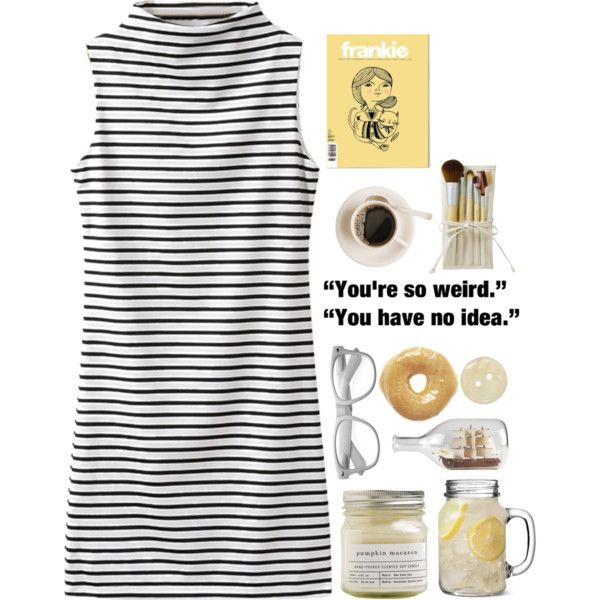 Frankly Speaking by graaaace on Polyvore featuring polyvore, fashion, style, Brooklyn Candle Studio, KING and ...Lost