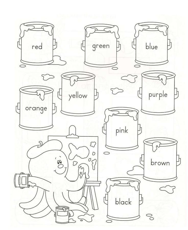 Aprendo Descubriendo en Infantil: Los colores en inglés
