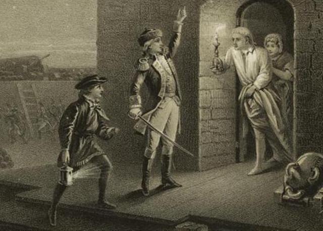 Leading the Green Mountain Boys: Ethan Allen: Ethan Allen captures Fort Ticonderoga, May 10, 1775
