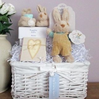 Baby Gift Basket, Baby Gift Hamper, boy & girl luxury newborn baby gift hamper, luxury baby basket, unique baby gift