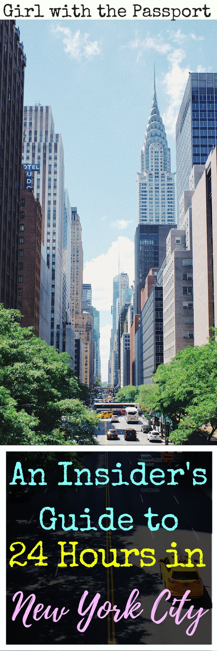 A local's #guide to spending a day in #newyorkcity. Find out all the tips, tricks, and travel #hacks that insider's use to make the most of their time in New York City. #wanderlust #USA #unitedStates #itinerary #planning