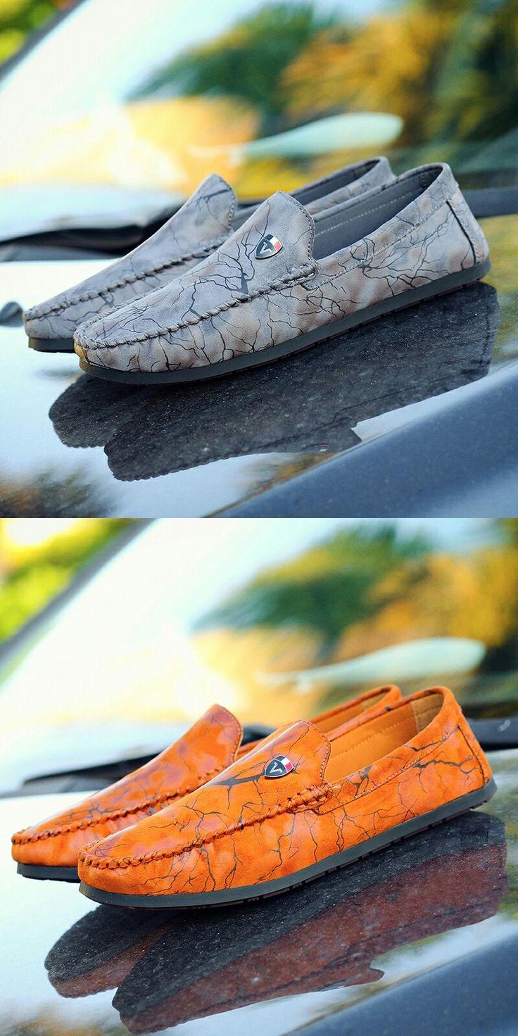 US $23.48 <Click to buy> Men's Flat Casual Comfortable Driving Shoe Footwear