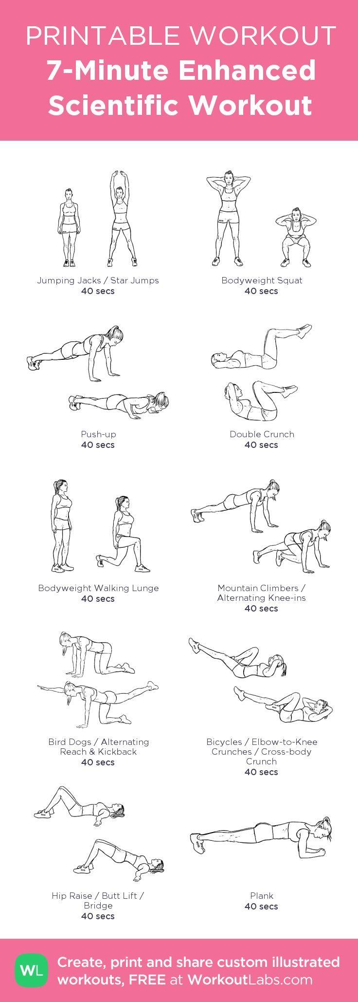 7-Minute Enhanced Scientific #Workout