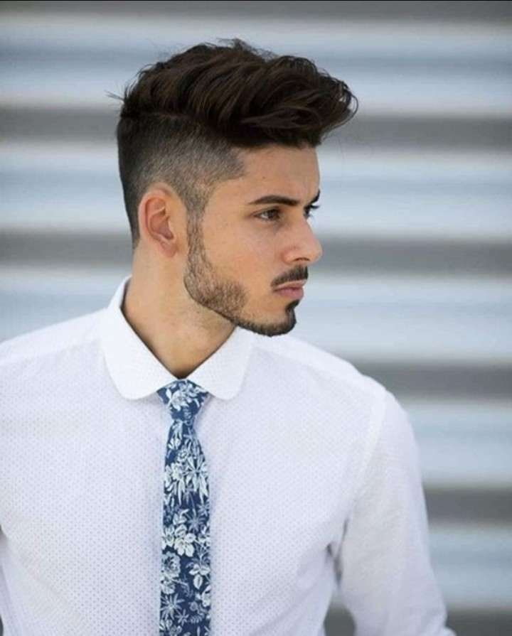 New Hairstyle For Boys On Flipboard Facial Hair Street Style Hair Formal Hairstyles For Long Hair Boy Hairstyles Formal Hairstyles Men