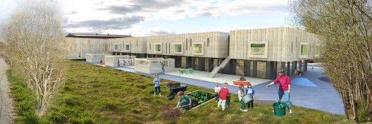 New Nørvasund School Competition entry / Various Architects + Kant Arkitekter + Grindaker Landksapsarkitekter