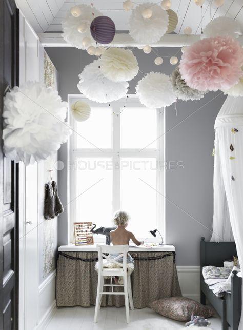 Lumineux et calme ! Une chambre d'enfant comme dans un rêve ;) #enfant #kids #MommyVille