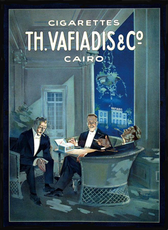 Vafiadis – Joseph Rovers – Egipto (1925)