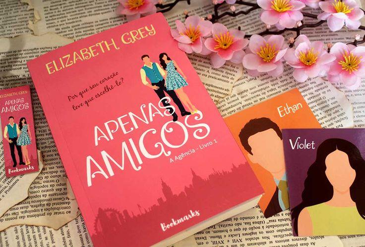 Resenha Apenas Amigos Serie A Agencia 01 Elizabeth Grey Em