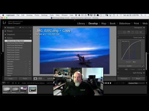 LightRoom Basics - Develop Module with Dave Doeppel - Part 3 - YouTube