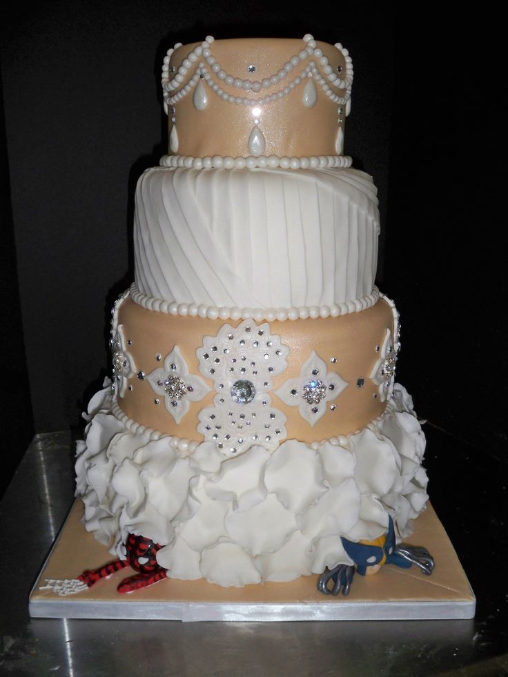 Images About Hidden Spider Man Wedding Cakes On