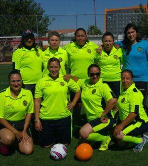 Equipo de Fútbol Femenil de la DGTM Campeonas.