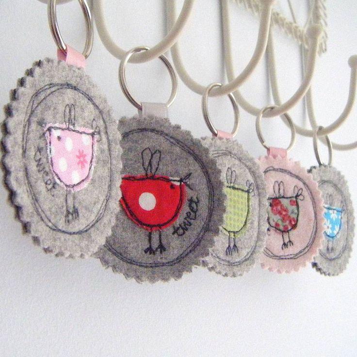 Fabric Key Ring