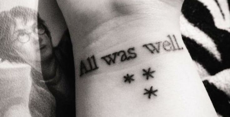 11 'Harry Potter' tattoos that rival an Unbreakable Vow