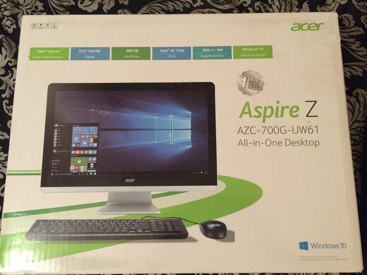 Brand NEW Acer Aspire Z - All in One / AZC-700G-UW61 / Intel  N3150 - Free Ship!