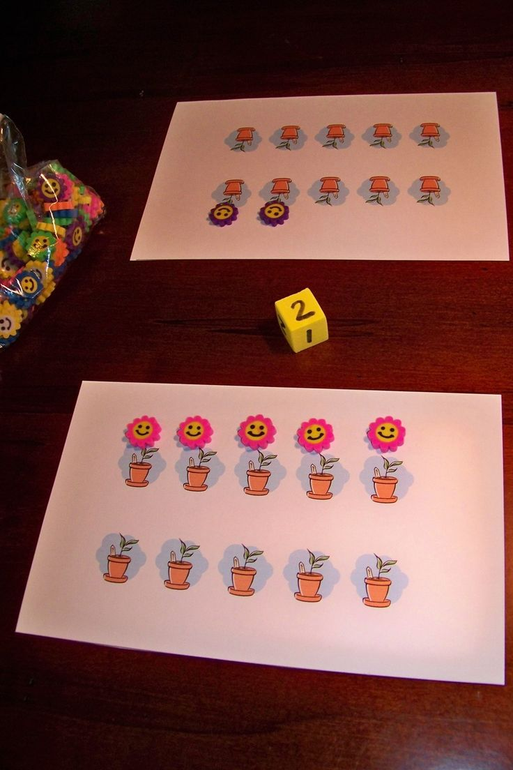 Cute counting game for preschool. there are so many different ideas for counting with young children.
