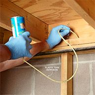 Despite the obvious drawbacks—it's messy, sticky and impossible to remove once it cures—there's nothing better than expanding foam for sealing energy-wasting air leaks. These are our best ways to use foam on energy-saving projects, plus tips for getting the most out of a can, and some other ingenious uses for this versatile product.