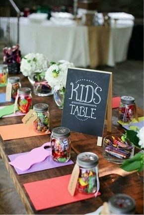 tavolo bambini matrimonio