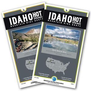 Idaho Hot Springs Mt Bike Route Set #packyourpanniers