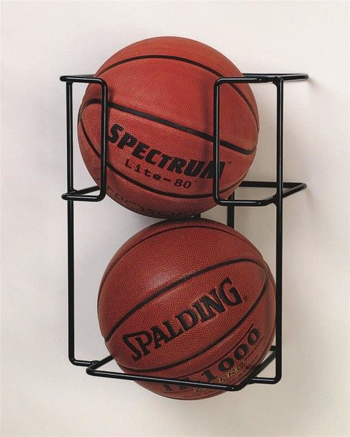 Buy Basketball Butler™ 2 Ball Storage Rack at S&S Worldwide