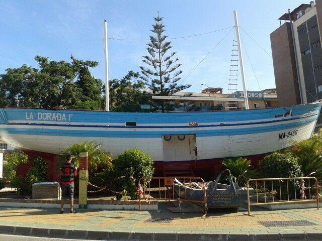 La dorada barco de chanquete