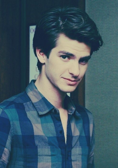 Andrew Garfield. He's adorable and he has an accent??? Perfection ♥