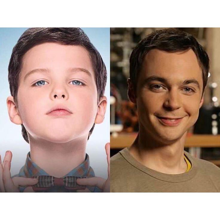 """Ownnnn! Acaba de sair o primeiro trailer de """"Young Sheldon"""", série sobre a infância do hilário Sheldon Cooper e a gente já tá aqui morrendo de amor por esse fofucho! Amei o primeiro dia de aula e a hora que o pai manda ele brincar do jardim kkkkkkkk Vem assistir que tá bem divertido; é só clicar no link na minha bio!"""