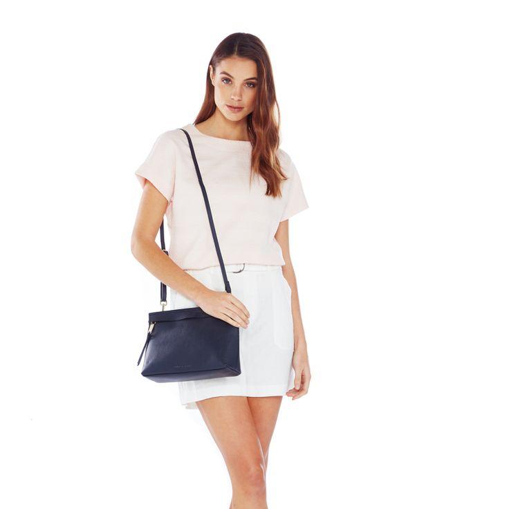 No fuss bag ?monogrammed n shipped  W28cm H20cm D8cm $230