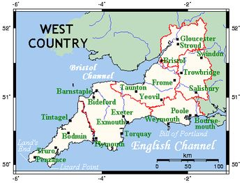 West Country - Wikipedia, the free encyclopedia