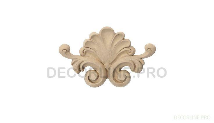 ОРНАМЕНТЫ из древесной пасты OR-37 Размер/Size: 72x114x15. Резной декор из древесной пасты, древесной пульпы, полимера, полиуретана, ППУ, МДФ, прессованный декор, декор из массива, декор из дерева