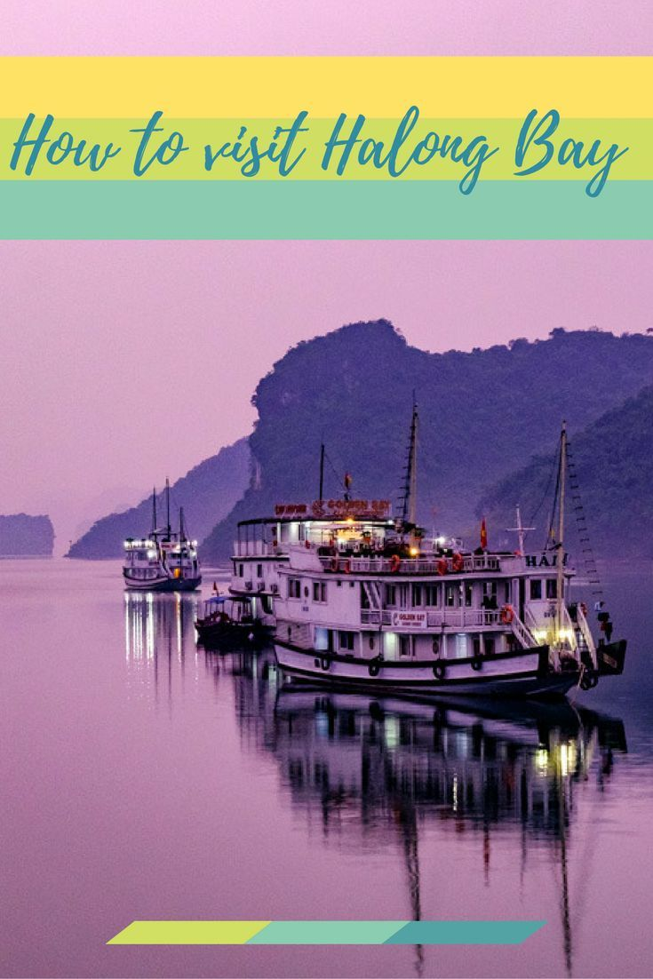 How to visit Halong Bay from Hanoi, Vietnam.