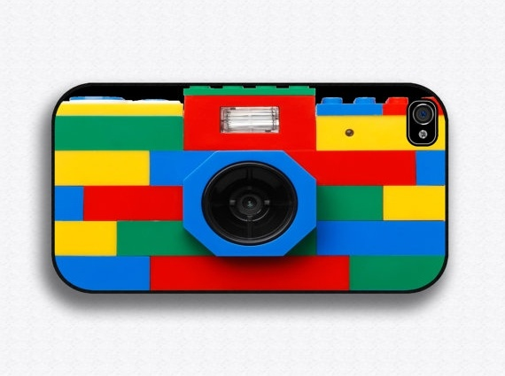 Lego iPhone camera case - and there are lots of other cool iPhone case options that look like cameras!