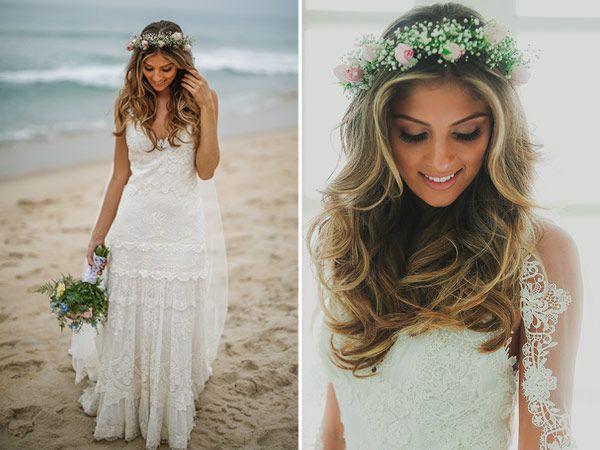 Coroa de flores para noivas! Blog - Fica, vai ter bolo! Wedding PlannerFica, vai ter bolo! Wedding Planner | Planejando sonhos…