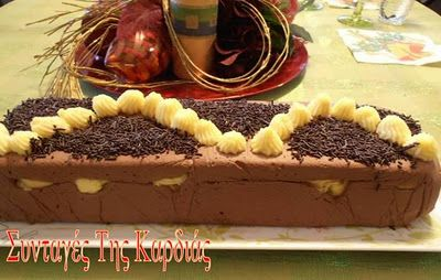 Sweet with Chocolate & Lemon Κορμός σοκολατένιος γεμιστός με λεμονένια σου