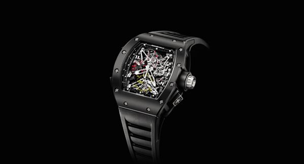 The Richard Mille RM 050 Tourbillon Split Seconds Competition Chronograph Felipe Massa www.hautetime.com #richardmille: Competition Chronograph, 050 Tourbillon, Www Hautetime Com Richardmille, Felipe Mass, Chronograph Felipe, Gents, Massa Www Hautetime Com, Watches, Massa Richardmille