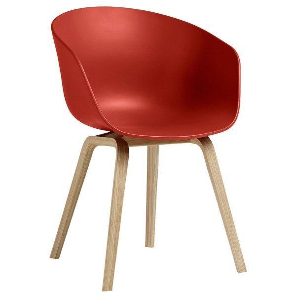 About a Chair AAC22 stoel met gezeept onderstel | Hay
