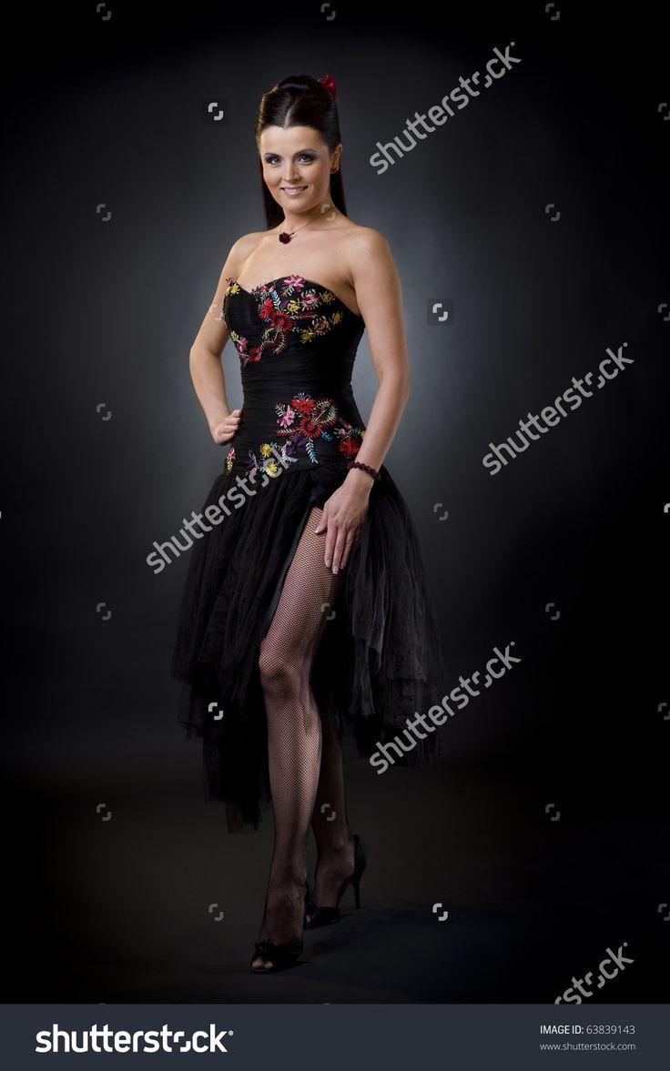 Harlow (cocktail) jurk zwart Harlow (cocktail) dress black