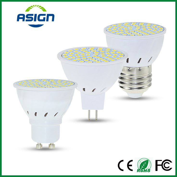 E27 LED Bulb Lamp GU10 MR16 LED Spotlight SMD 2835 48led 60led 80led High Bright Lamparas LED AC220V 230V Spot Lampada LED