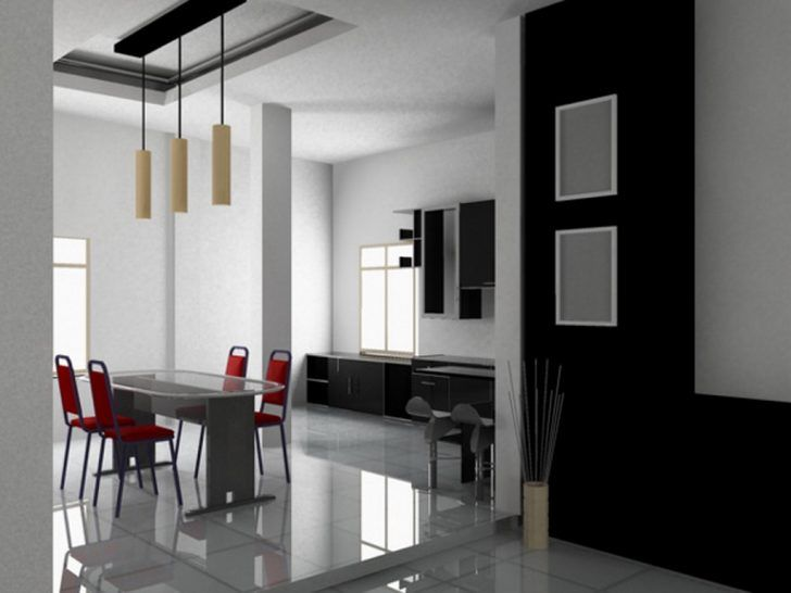 17 best ideas about minimalist dining room on pinterest for Wall designs for dining area