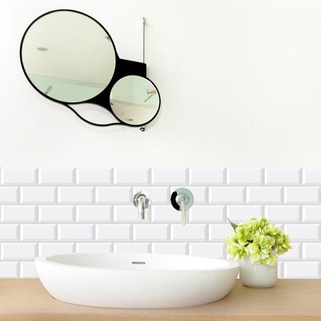 11 best Crédence salle de bain 99deco images on Pinterest Bandeau - Plan Electrique Salle De Bain