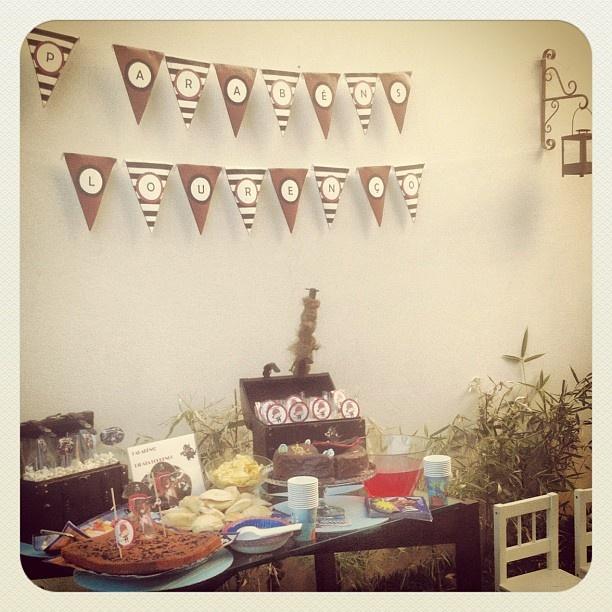 #pirates #birthday #party #nephew #lourenco #3years #kids #family #popcorn - @ritzdesousa- #webstagram