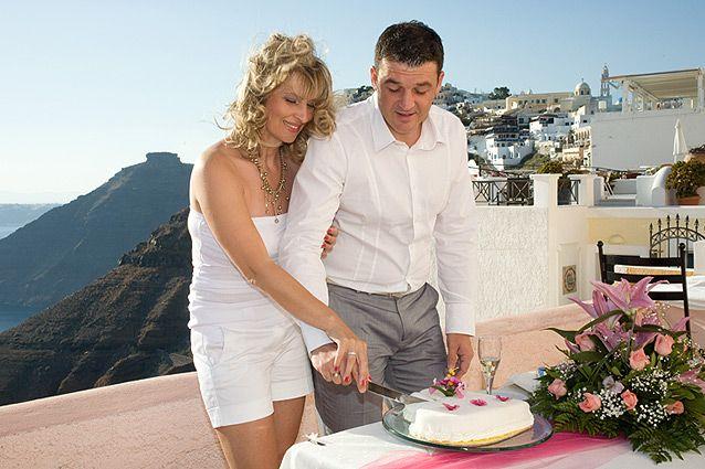 Wedding in Santorini Sphinx