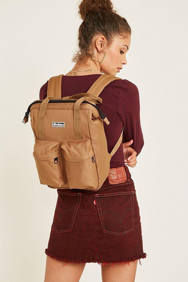 56f55e3fd Dickies Haywood Brown Backpack | wish list | Backpacks, Brown backpacks,  Backpack purse