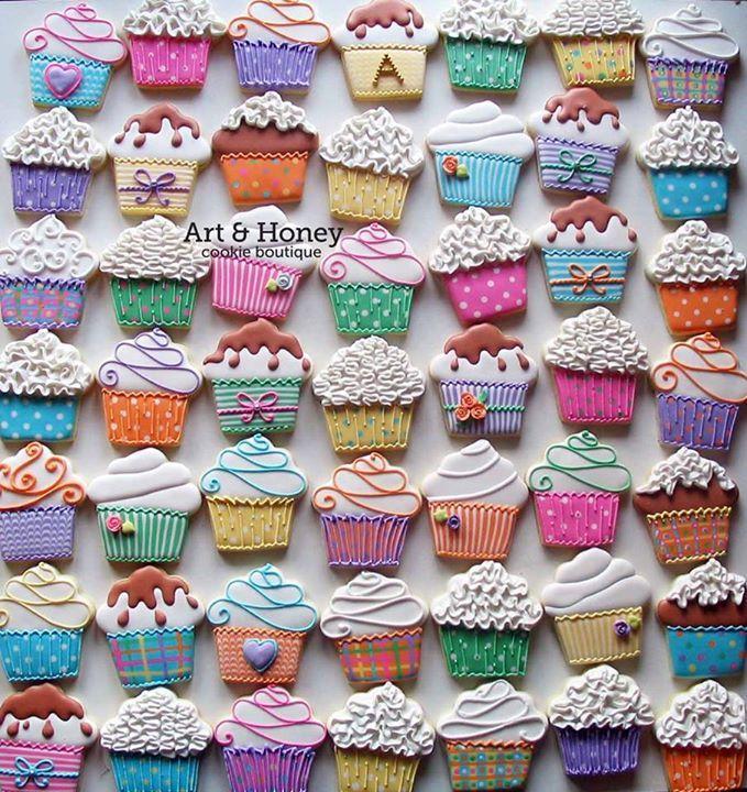 Cupcake Cookies // Natasa Belic