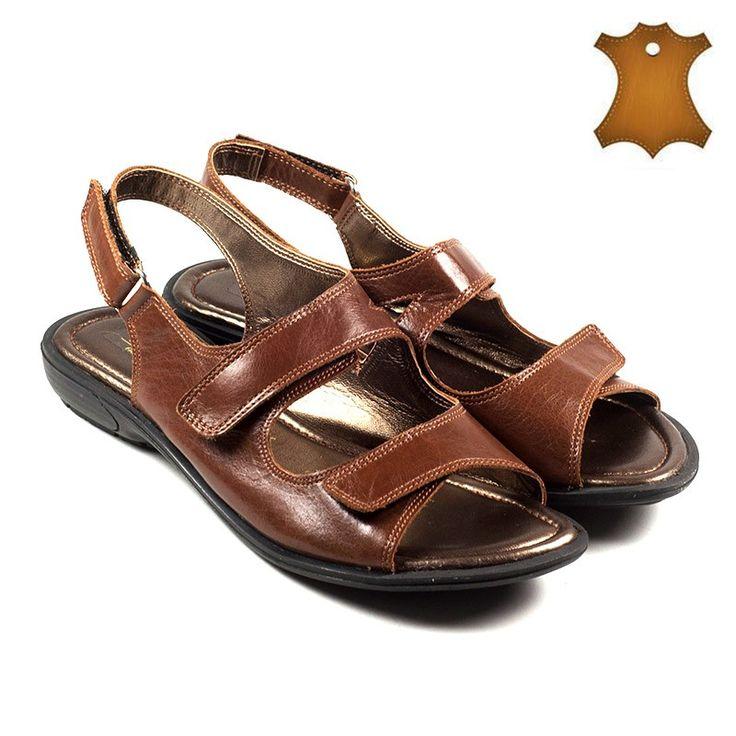 Poze Sandale dama piele naturala ARIANA maron