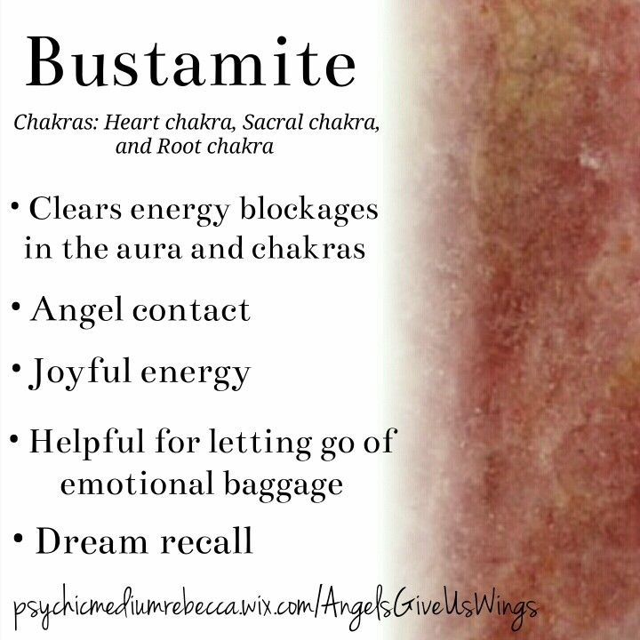 Bustamite crystal meaning